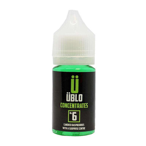 Ublo Concentrate Number 6 (Equivalent of Beast Blood Vjuice) for your vape at Red Hot Vaping