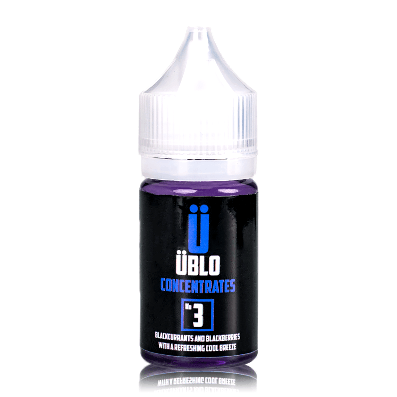 Ublo Concentrate Number 3 (Equivalent of Purple Rain Vjuice) for your vape at Red Hot Vaping