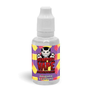 Rhubarb And Custard Vampire Vape Concentrate
