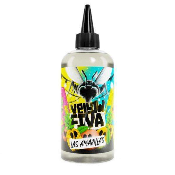 Las Amarillas By Yellow Fiva 200ml Shortfill for your vape at Red Hot Vaping