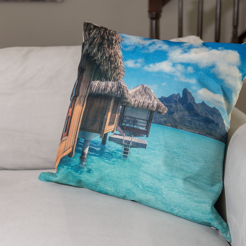 Paradise View Decorative Pillow Cover