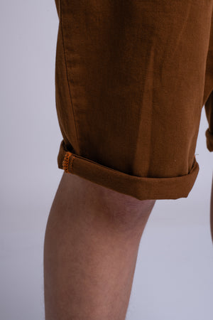 MENS CHINO SHORTS TAN
