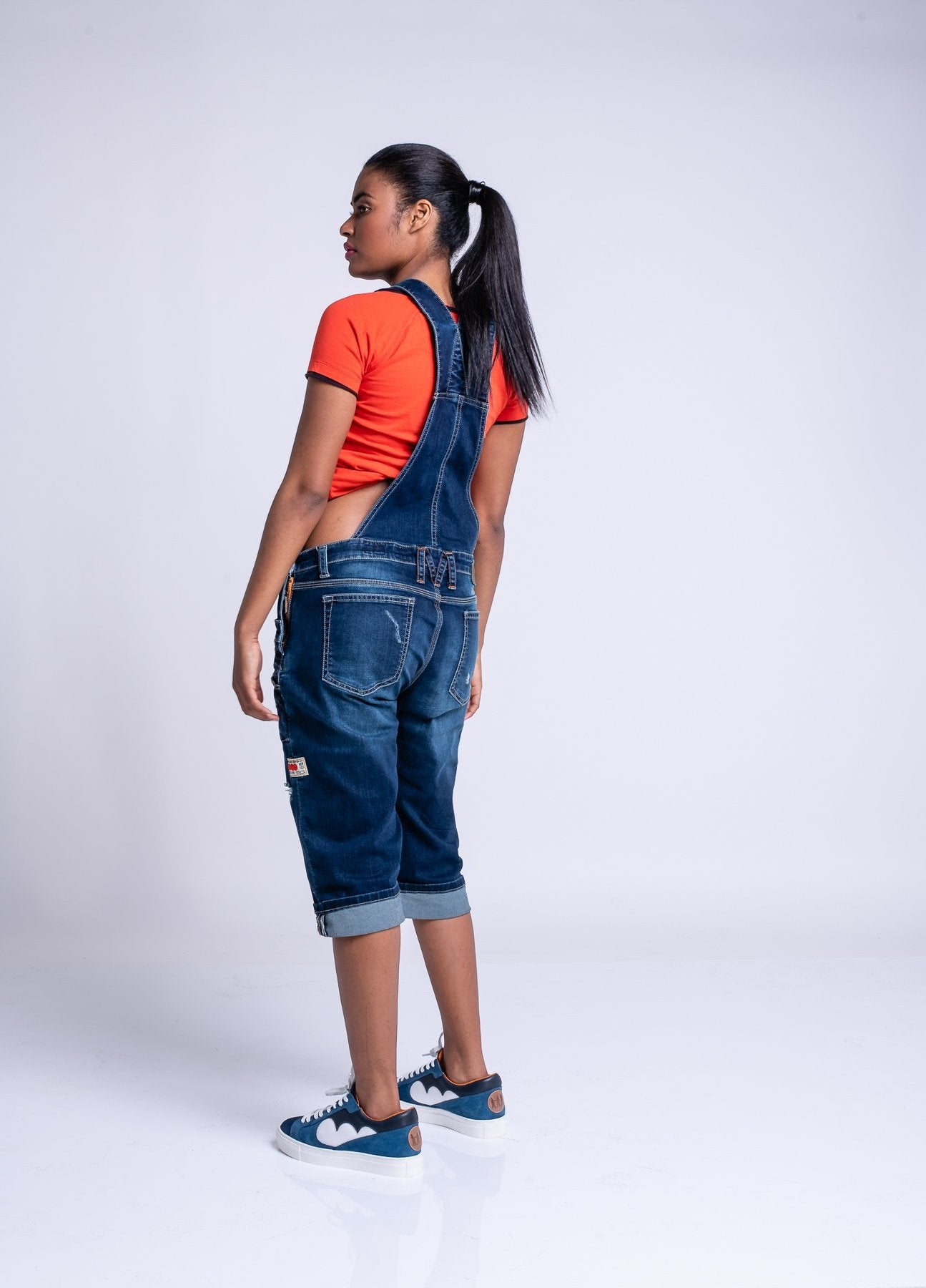 LADIES 990 DUNGAREES - ORIGINAL WASH
