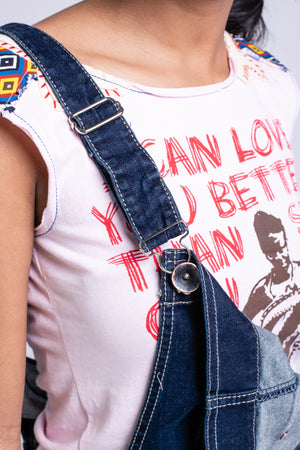 I CAN LOVE YOU BETTER VEST - PINK