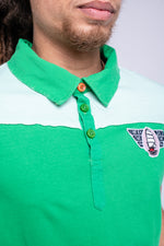 LIVE BY THE SEA DIE BY THE SEA POLO - GREEN