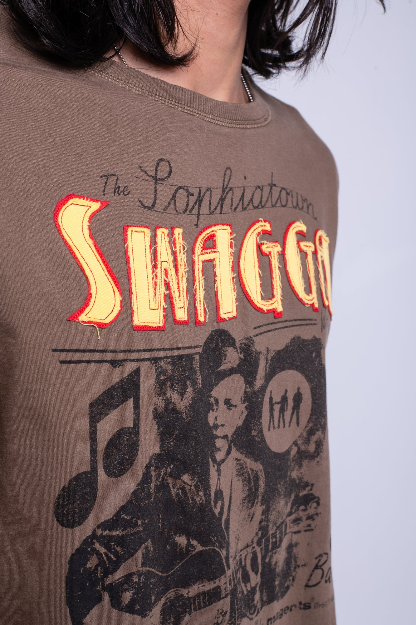SWAGGA TEE - BROWN