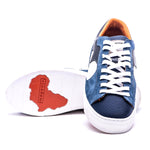 NDOZI LOW CUT SNEAKER - BLUE