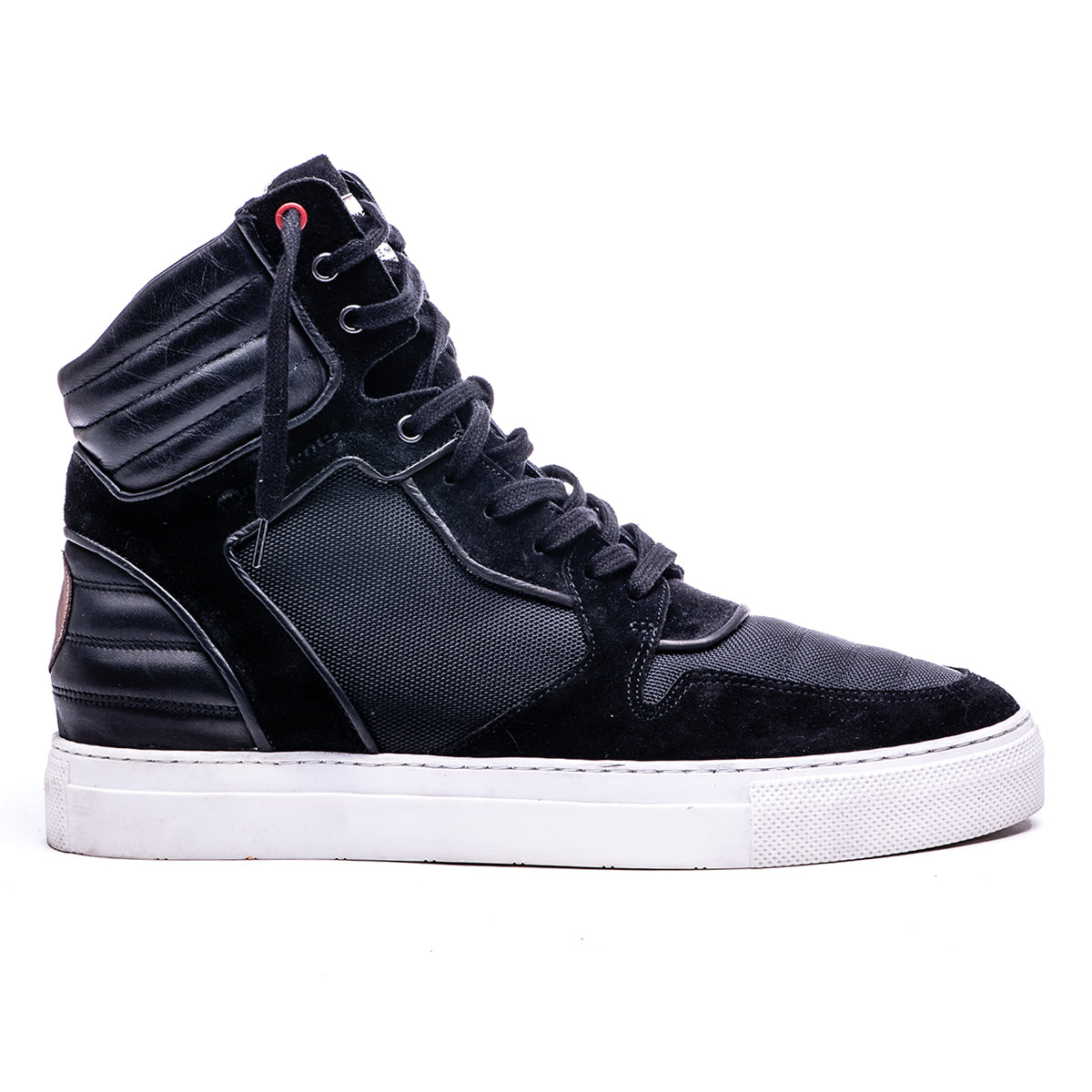 MOJA HIGH TOP BOOT - BLACK