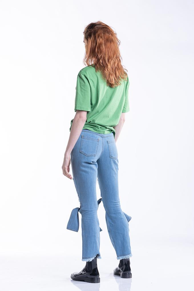 Statement High Waisted Jeans