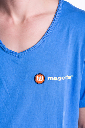 MAGENTS CORE LOGO TEE IN BLUE