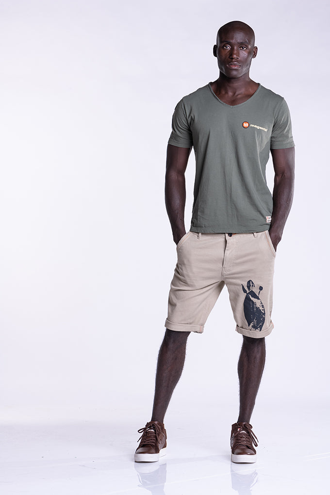 SHAKA COTTON TWILL SHORTS