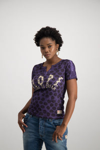 HOPE DARE TO DREAM T-SHIRT - PURPLE