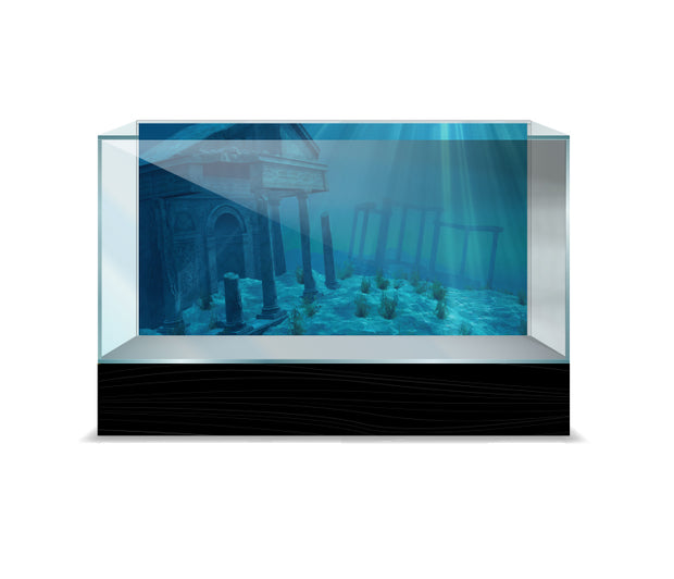 Sporn® Aquatics: Ruins Cling Background