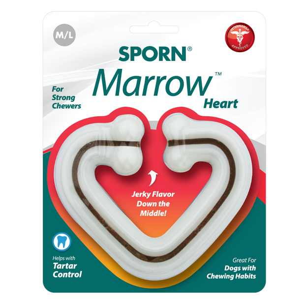Sporn Marrow Heart bone pour chiens