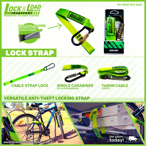 Lockstrap- Anti theft device