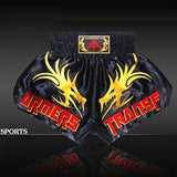 Embroidered Dragon Boxing/MMA Trunks.