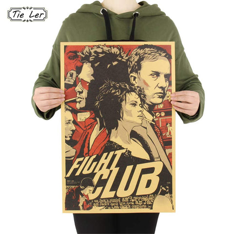 Fight Club Paper Poster