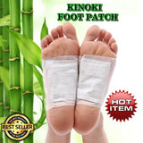 CLEANSING DETOX FOOT PATCH BY KINOKI - (10 PATCHES/BOX)