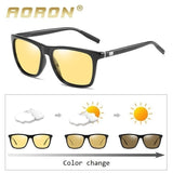 Aoron® UV400 HD Night Vision Photochromic Polarized Glasses