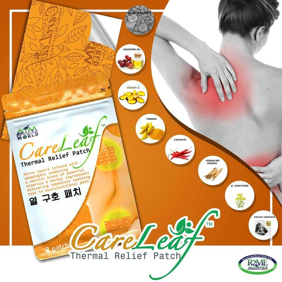 CARELEAF™ THERMAL RELIEF PATCH - (8 PATCHES/SACHET)
