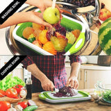 MULTOOL™: Foldable Multi-Function Chopping Board