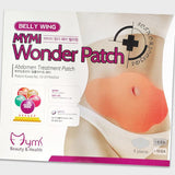 WONDER PATCH BELLY - QUICK SLIMMING PATCH BY MYMI - 30 DAYS 10 PCS