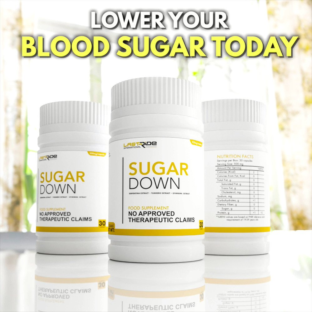 SUGARDOWN - (30 CAPSULES)