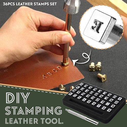 DIY Leather Stamping Tool Set