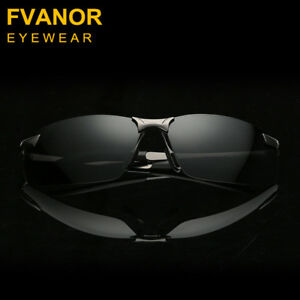 Fvanor™ High end Men's Polarized Sunglass SET