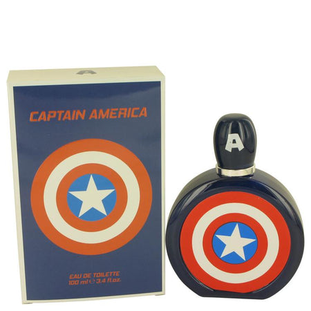 Captain America by Marvel Eau De Toilette Spray 3.4 oz