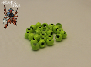 Painted/Matte Round Tungsten Beads