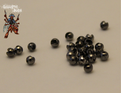 Disco Slotted Tungsten Beads