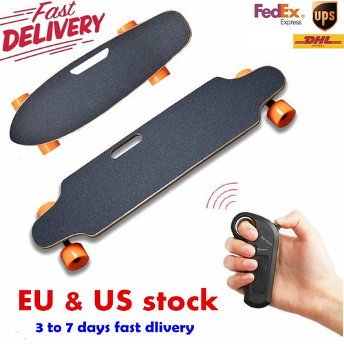 Four Wheel boost Electric Skateboard Wireless Remote controller Scooter Plate Board hoverboard unicycle