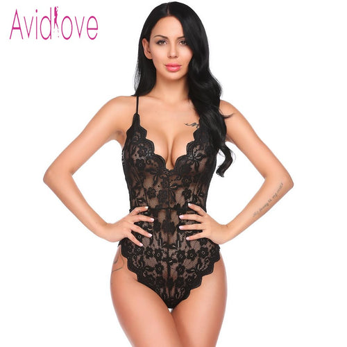 2018 NEW SEXY LINGERIE LACE  BODYSUIT