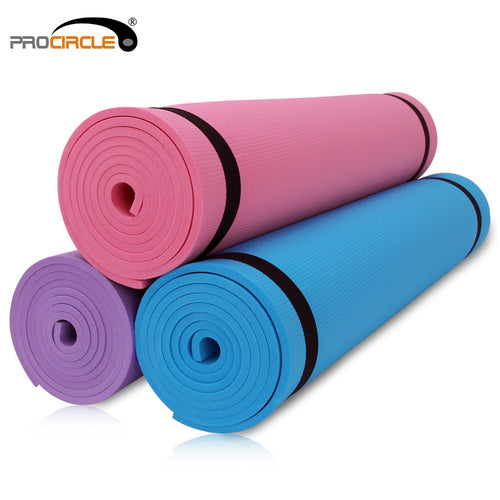 Yoga Mat 6MM Thick Non-slip Fitness Pad For Yoga Exercise Pilates