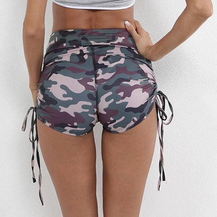 Camo Active Wear Shorts