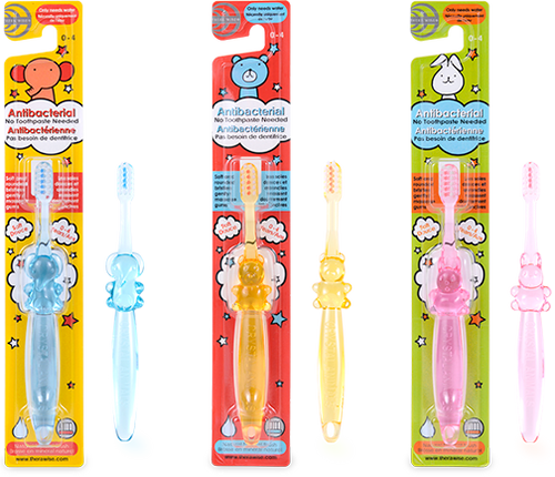 Children's Toothbrush(0-4 years) 3 units