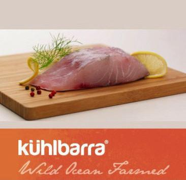 Fresh Kuhlbarra Barramundi Boneless Skin On Portion (200gm)