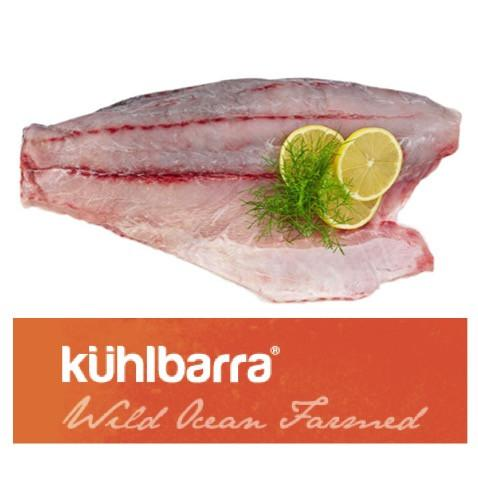 Fresh Kuhlbarra Barramundi Boneless Whole Side (1kg)