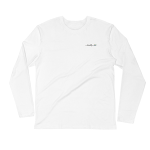 Long Sleeve Fitted Crew | Trrtlz Deep Sea
