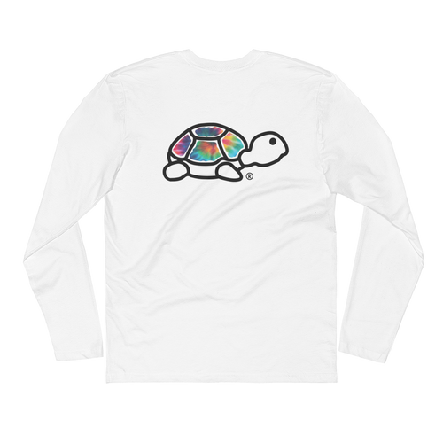 Long Sleeve Fitted Crew | Trrtlz Tye Die