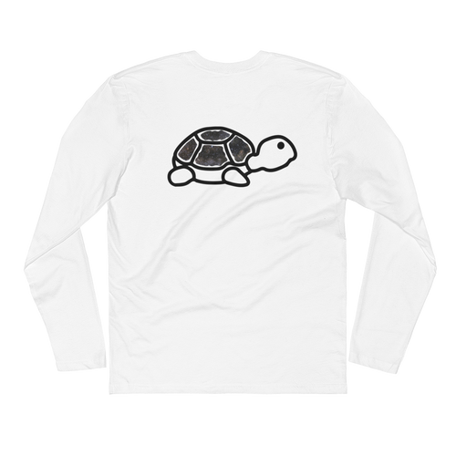 Long Sleeve Fitted Crew | Trrtlz Celestial