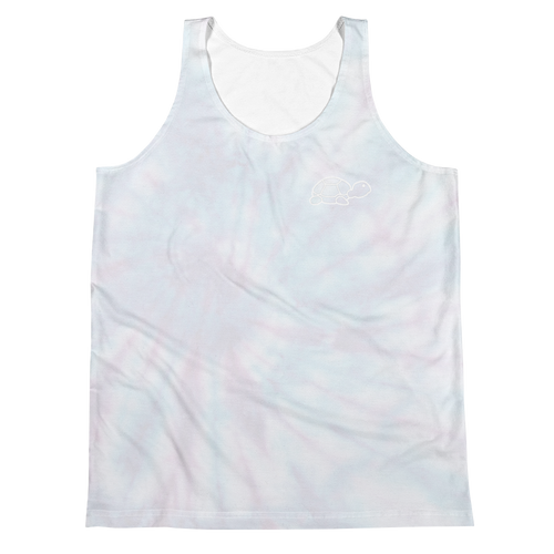 Unisex Tank Top | Trrtlz Faded Tye Die