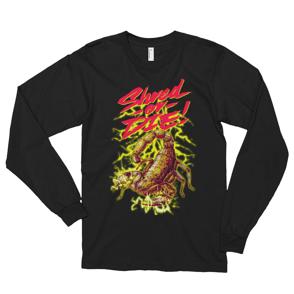 Shred or Die Scorpion Long sleeve