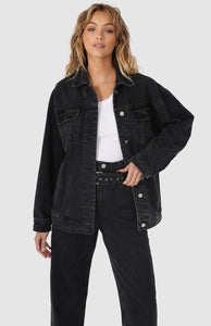 SKYE DENIM JACKET - WASHED BLACK