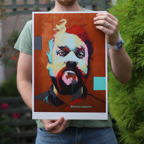 Large  - Scott Hutchison Mural Giclee Print