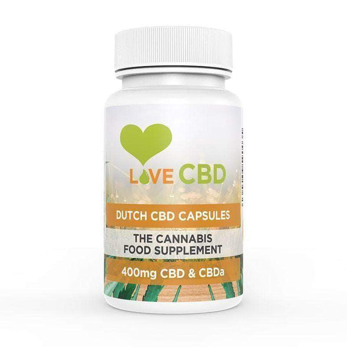 CBD Capsules - Dutch CBD Capsules 80 (400mg)
