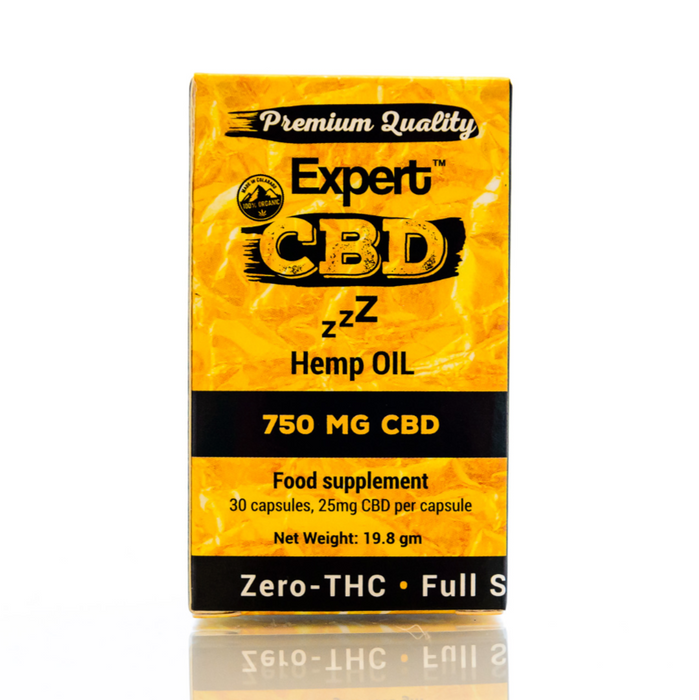CBD Capsules for Sleep 30 - 750mg