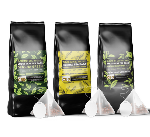CBD Tea (Infused Teabags 12 Pack)