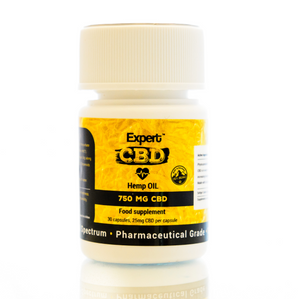 CBD Soft Gel Caps 30 - 750mg